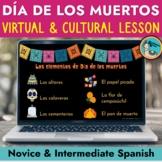 Digital Dia de los muertos Day of the Dead Virtual Cultura