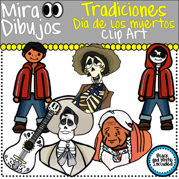 Dia de los muertos Day of the dead Family traditions Clip art