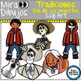 Dia de los muertos Day of the dead Family traditions Clip art
