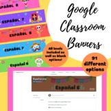 Día de los muertos Google Classroom Banners (Spanish Googl