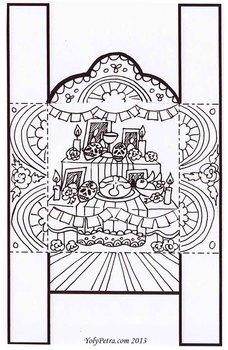 Día de los muertos Mini Altar