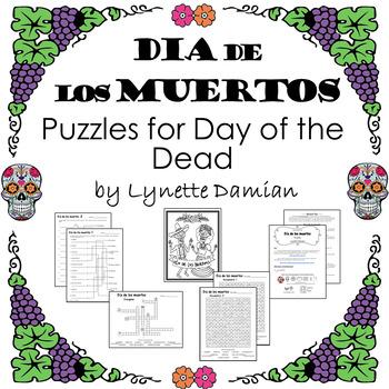 Día de los muertos  Puzzles for Day of the Dead