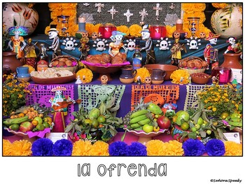 Día de los muertos - Reading & Comparing Activities for Novice Learners