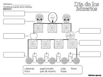 Día de los muertos - Reading & Comparing Activities for Novice Learners