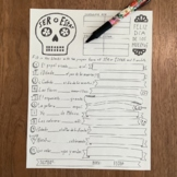 Dia de los muertos Ser and Estar worksheet ~no prep printable Spanish verbs