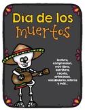 Día de los muertos actividades / Day of the Dead Activities in Spanish