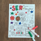 Dia de los muertos ~color by verb conjugation ~Ser ~Day of