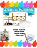 Día de los muertos digital + Lesson Plan included