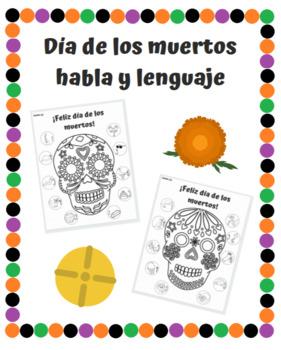 The Dead Speak original painting Hablan los Muertos