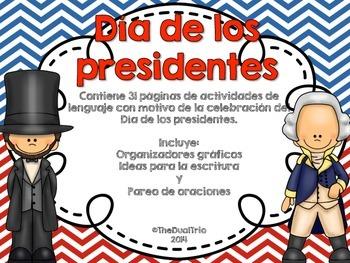 Día de los presidentes (President's Day Pack)  Spanish