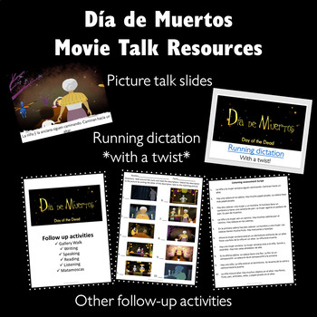 Día de muertos Movie Talk and follow up activities