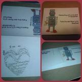 Dia del Amor Y la Amistad printable cards Spanish/English