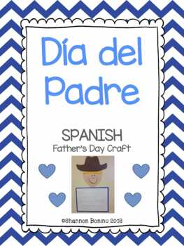 Día del Padre - SPANISH Father's Day activity