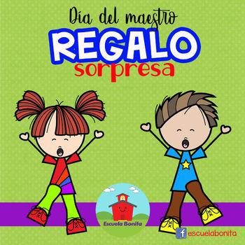 Día del maestro REGALO SORPRESA!!!