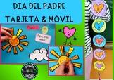 Día del padre Father's day Craftivity tarjetas y móvil esp