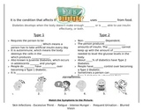 Diabetes Graphic Organizer