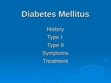 Diabetes Lesson