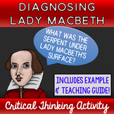Diagnosing Lady Macbeth Critical Thinking Activity