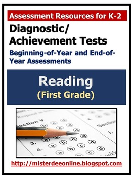 Diagnostic/Achievement Test in Reading (First Grade)