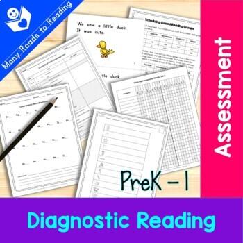 Diagnostic Reading Assessment: K-1 {10 tests}