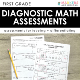Diagnostic Math Assessments (First Grade)