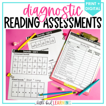Diagnostic Reading Assessments Toolkit