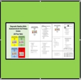 Diagnostic Reading Skills Assessments for the Primary Grad