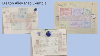 Diagon Alley Map Assignment (Harry Potter and the Sorcerer's Stone) - Chapter 5