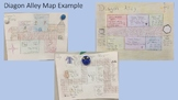 Diagon Alley Map Assignment (Harry Potter and the Sorcerer