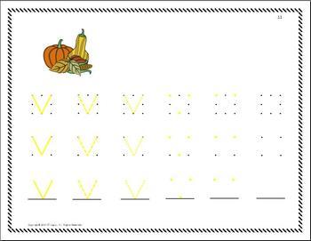 Diagonal Letters Made Easy: Visual Perceptual Motor Training