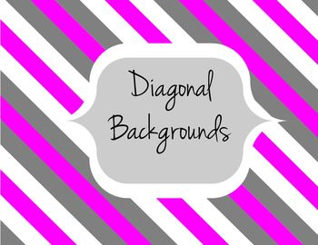 Diagonal Lines Backgrounds Digital Paper for personal & co