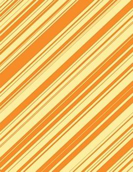 "Diagonal Patterns in Fall Colors - 5-Pack - 8.5"" x 11"""