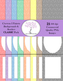 Chevron I Backgrounds and Borders CLASSIC Pack