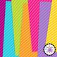 Diagonal Stripes Digital Papers