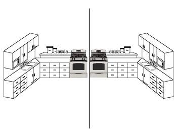 Diagram of Kitchen Units