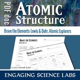 Diagramming Atoms | Constructing Lewis and Bohr Models | Printable Worksheets