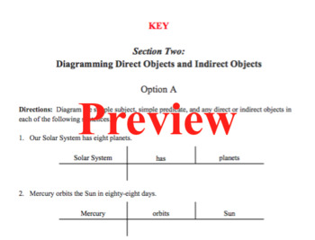 Sentence diagramming made simple direct and indirect objects tpt sentence diagramming made simple direct and indirect objects ccuart Images