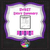 Plot Summary: Somebody, Wanted, But, So, Then {SWBST}