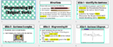 Diagramming Subject, Verb Mini-Lesson w/Guided Notes- GOOG