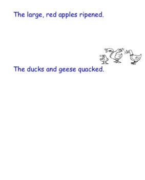 Diagramming Sentences: A SmartBoard Notebook File