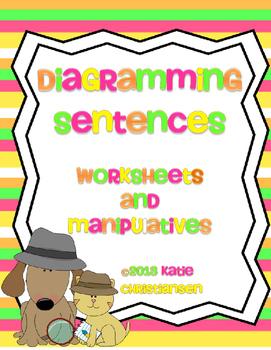 Diagramming sentences teaching resources teachers pay teachers diagramming sentences activities diagramming sentences activities ccuart Images