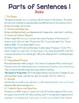 Diagramming Sentences Cheat Sheet
