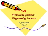 Diagramming Sentences - The Basics - Compound Subjects - Week 3