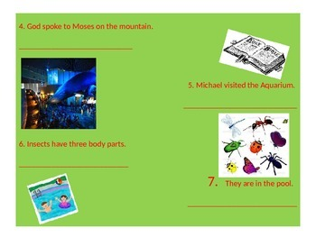 Diagramming Subjects & Verbs Powerpoint Lesson