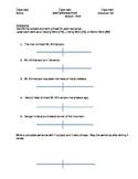 Diagramming Worksheet - Sentence Mapping