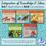 Diagrams Illustrations Task Card Bundle RI.3.7 RI.3.8