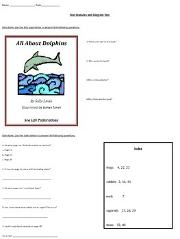 Diagrams and Text Features