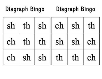 Diagraph Bingo
