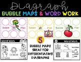 Diagraph Sorting Bubble Maps and Word Work