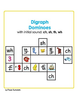 Diagraph Dominoes
